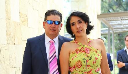Jesús e Ileana del Castillo.