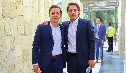 Franco Safont y Patricio Minondo.