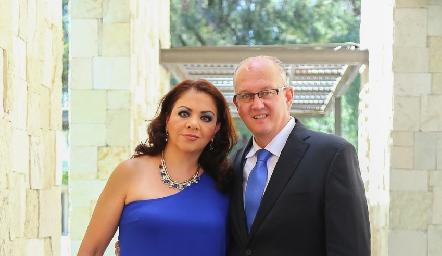 Mónica y Javier Michel.