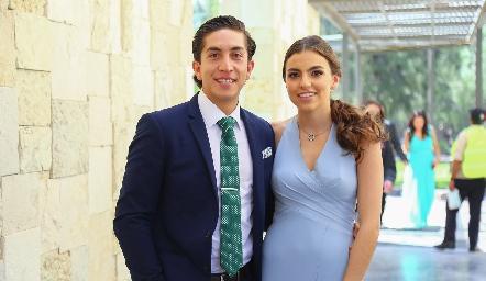 Andrés Rodríguez y María Paula González.