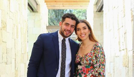 Carlos Barba y Valeria Alcalde.