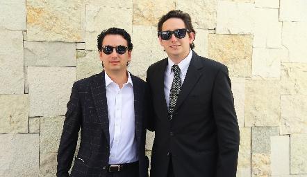 Víctor y Daniel Zepeda.