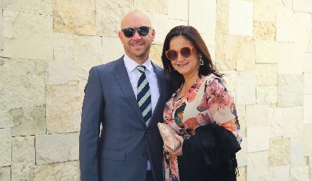 Roberto García y Adriana Calvillo.