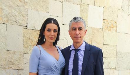 Silvia Reynoso y Sergio Godínez.