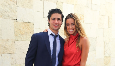 Pollo Acevedo y Ana Paula López.