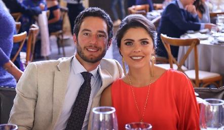 Marcos Del Valle y Claudia Miranda.