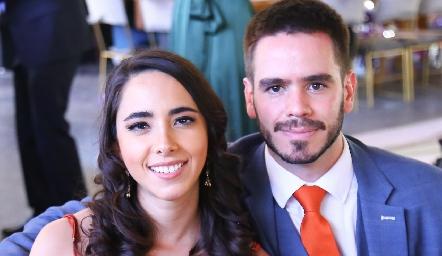 Lorena Cuadra y Eduardo Álvarez.