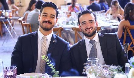 José Luis y Ernesto.
