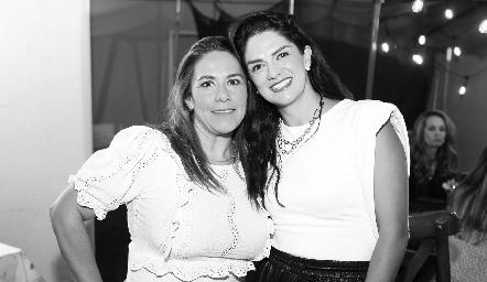 Michelle Zarur y Dani Gutiérrez.