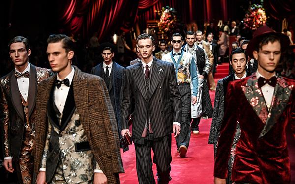 Dolce & Gabbana y Versace, protagonizaron la Semana de la Moda en Milán