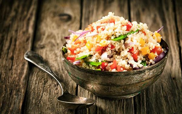 Receta sencilla a base de Quinoa... ¡No te lo puedes perder!.