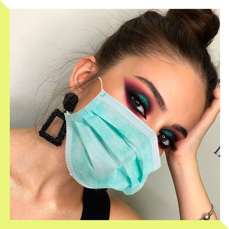 5 tipos de maquillaje de ojos (llenos de brillo) para resaltar tu mirada al usar cubrebocas