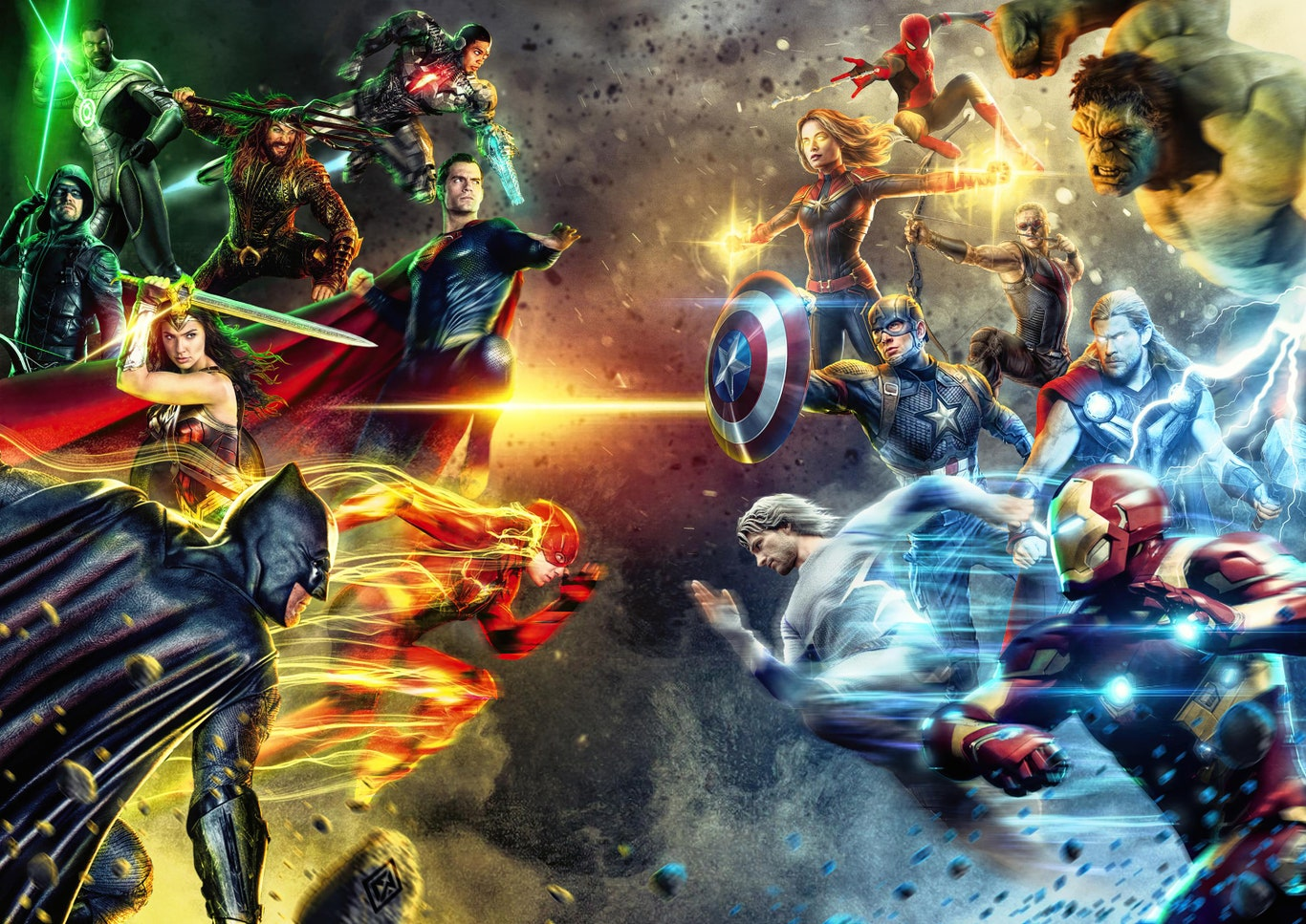 James Gunn quiere un crossover entre Marvel y DC Comics