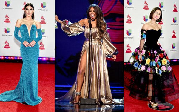 Los mejores looks de los Latin Grammys 2018