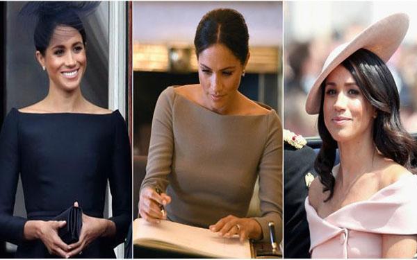Meghan Markle usa el escote que más estiliza el cuerpo y también podrás lucirlo como una reina