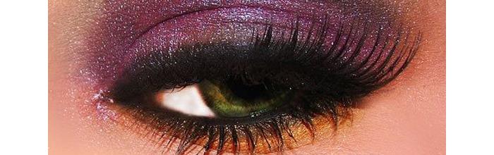 La sombra de ojos lila, la tendencia inesperada del otoño.
