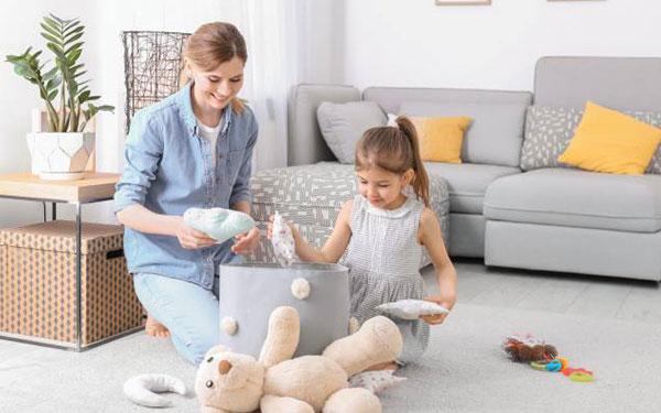 ¿Cuál es la edad ideal para inculcarles rutinas de orden a los niños?