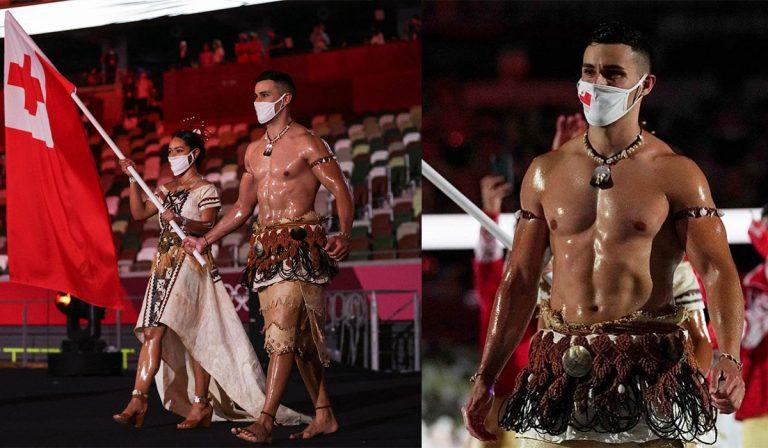 El mensaje detrás del vestuario de Pita Taufatofua en la apertura de los Juegos Olímpicos