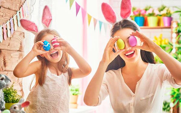 Actividades para celebrar la pascua con tus hijos