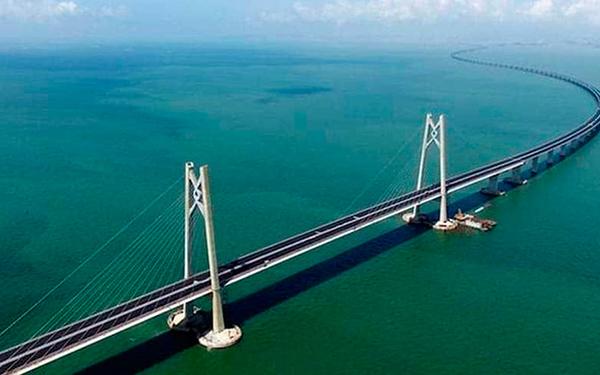China inaugurará el puente marítimo más largo del mundo